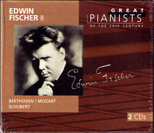 Edwin Fischer 2 Great Pianists of the 20th Century 2cd beethovem Mozart Schubert