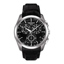 TISSOT COUTURIER MENS CHRONOGRAPH WATCH T0356171605100 BLACK LEATHER RRP £360