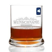 Whisky Glas - Motiv: Geniesser limited - mit Gratis Gravur