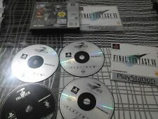 FINAL FANTASY VII  PS1 PAL ES