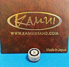 (1) Genuine S KAMUI BROWN CLEAR Pool Cue Tip ( SOFT ) - w/ serial number