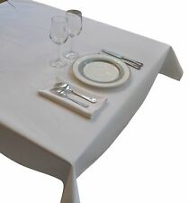 Nouvelle Legende® Tablecloth - Commercial Grade 52 in. by 72 in. White