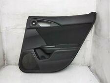 17 18 19 20 Honda Civic Rear Right Interior Door Trim Liner Panel Black Oem