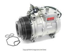 Mercedes w124 w126 A/C Compressor w/Clutch DENSO OEM +1 YEAR WARRANTY