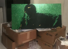 Tiger Woods MASTERS CHAMPION ((GLITTER)) 2019 24X48 Canvas + $25 GIFTCARD