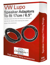 "VW Lupo speaker adapter pods Rear Panel 17cm 6.5"" fitting rings adaptors"