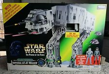 Imperial AT-AT Walker 1997 Star Wars POTF Power of the Force MIB Electronic