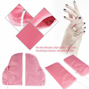 Hot Spa Heated Beauty Foot/Hand Mitts Theraputic for Paraffin Wax Therapy