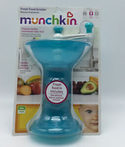 Munchkin Baby Puree Fresh Food Masher Baby Food Hand Grinder