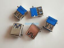 5X USB 3.0 Type-A Female 9 Pin 90° DIP SMT SMD Socket Connector Curved Legs