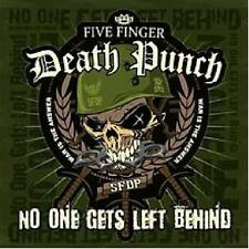 Five Finger Death Punch  No One Gets Left Behind Limited Ed Numbered Green 7Inch