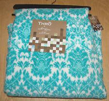 "Thro by Marlo Lorenz baltic blue darla chevron fleece throw 50"" X 60"" NWT"