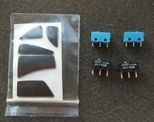 New Logitech VX Revolution Teflon mouse Feet & 2 Omron & Huano Micro switches