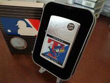 TORONTO BLUE JAYS ZIPPO LIGHTER MINT IN BOX RETIRED DESIGN MLB