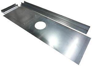 2mm thick Galvanised Steel Register Plate