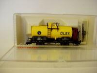 Kesselwagen OLEX  DR mit Bremserhaus   Fleischmann 5847 K  H0  OVP NEUWERTIG