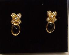 Avon Genuine Onyx Kiss Clip Earring