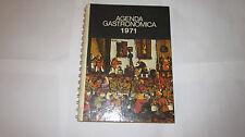 M. DESERTI AGENDA GASTRONOMICA 1971 PRIMA EDIZIONE D & C COPERTINA PICINNI