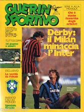 GUERIN SPORTIVO=N°11 1985=CALCIOMONDO=SPECIALE BRASILE
