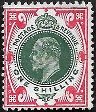 1911 KEVII SG312 1s Dark Green & Scarlet M47(1) MNG Mint CV £120