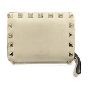 VALENTINO GARAVANI Wallet  Cream Leather 2303282