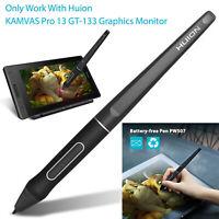 1 x PW507 Battery-free Pen Touch Stylus Black for HUION KAMVAS Pro 13/Pro 12/16