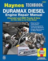 Duramax Diesel Engine Shop Manual Service Repair Book Chevrolet Haynes 2001-2012