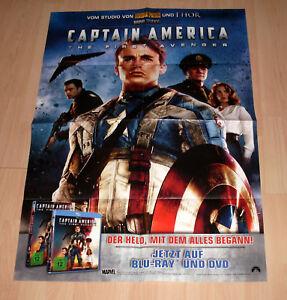Filmposter A1 Filmplakat 59,4 x 84 cm - Captain America - The First Avenger