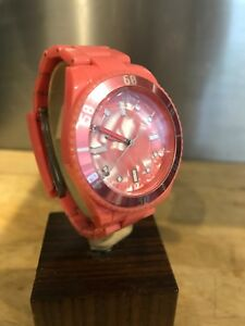 Ladies Quartz Pop Watch - Pink