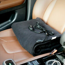 12V Car Heating Blanket Winter Warmer Electric Heated Soft Mat Travel Outdoor