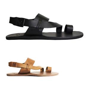 Vivobarefoot Womens Sandals Kuru II Casual Hook-And-Loop Slingback Leather