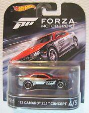 '12 Camaro ZL1 * FORZA Motorsport w/ REAL RIDERS * Hot Wheels Retro Series