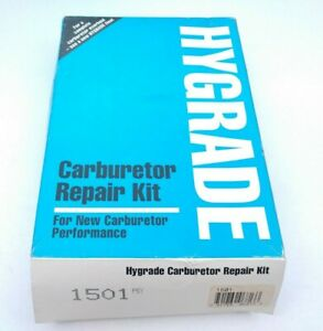 Carburetor Repair Kit Standard Hygrade 1501