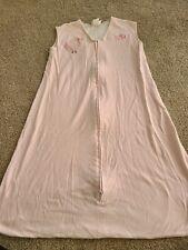 Halo Sleep Sack X-Large 18-24 Months Wearable Blanket pink cotton XL