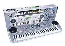 Bandstand 54 Keys LCD Screen Electronic Piano Musical Keyboard Organ Adopter Mic