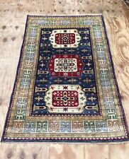 Vintage Turkish Handwoven Rug With Beautiful Design