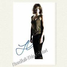 Lauren Cohan - The Walking Dead AUTOGRAPH - Autogrammfotokarte laminiert [A01] 