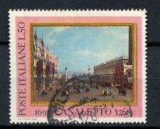 ITALIA 1968 SG # 1230 Canaletto dipinto USATO #A 40343