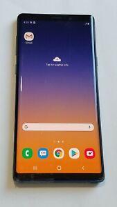 Samsung Galaxy Note 9 - N960U - Blue - 128GB - Unlocked - Screen Crack #275OC