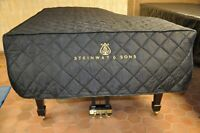 Steinway O Lightweight Quilted Cover Steinway Logo on Front for Steinway Model O