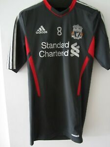 Adidas 11-12 Liverpool Player Issue Training Jersey Football Shirt Gerrard