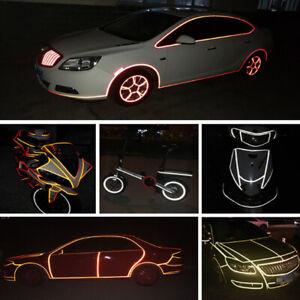1x8M Rad Reflektierend Sticker Felge Leuchtend Klebeband für Motorrad Auto