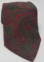 Cravatta longchamp paris 100% pura seta tie silk original made in italy