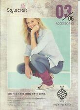 Stylecraft How to Knit 03/06 Accessories