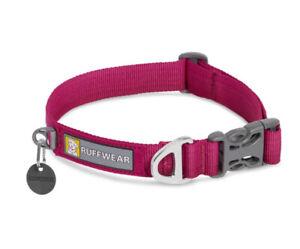 Ruffwear Front Range Dog Collar In Hibiscus Pink SMALL Used