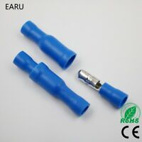 50pcs Blue Male Female Bullet Insulated Hot MPD2.5-156 MPD2-156 FRD2.5-156