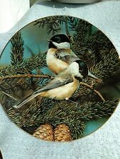 1990 Series Portraits of Exquisite Birds, Backyard Treasure: The Chickadee