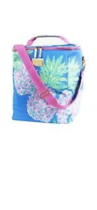 Lilly Pulitzer Insulated Wine Carrier / Tote Cooler Beverage Cooler Beach Tote