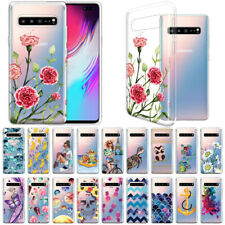 """For Samsung Galaxy S10 5G 6.7"""" Clear Transparent TPU Silicone Soft Case Cover"""
