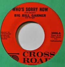 Big Bill Gardner Who's Sorry Now Night Life Country Inst 45 Seattle WA Label